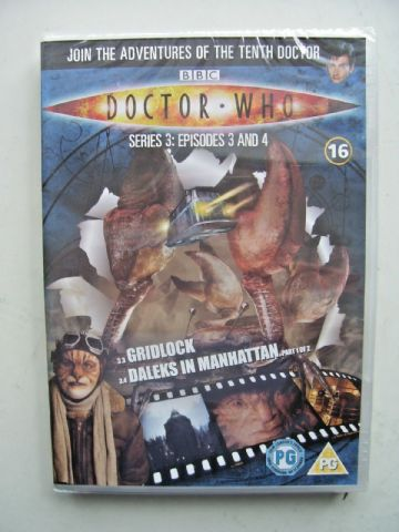 Doctor Who Series 3 Episodes 3 & 4 DVD David Tennant NEW & SEALED